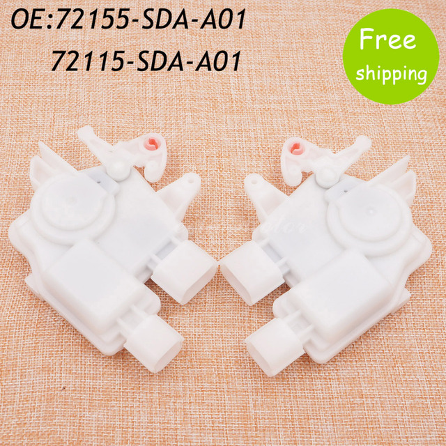 New 1 pair Power Door Lock Actuator For Honda Accord Acura Front Left & Right Side 72155-SDA-A01 72115-SDA-A01