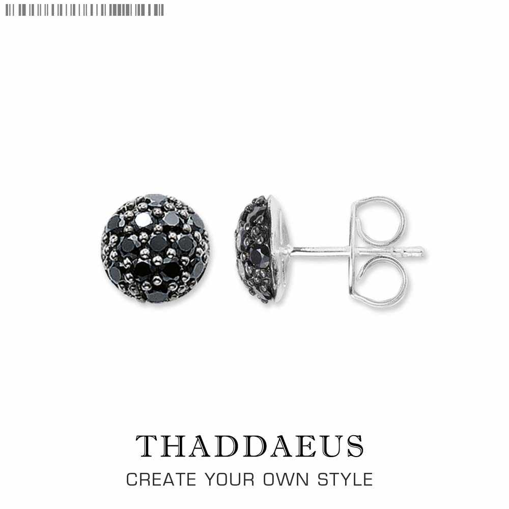 Stud Earrings Black Pave,Thomas Style Glam Fashion Good Jewerly For Women Men,2017 New Ts Gift In 925 Sterling Silver,Super Deal