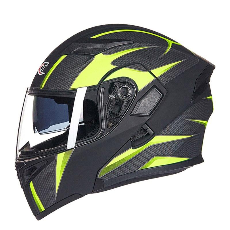 GXT Motorcycle Filp Up Helmets Racing moto Motorbike Cool Men's riding casco Helmet Full face 902 helmets