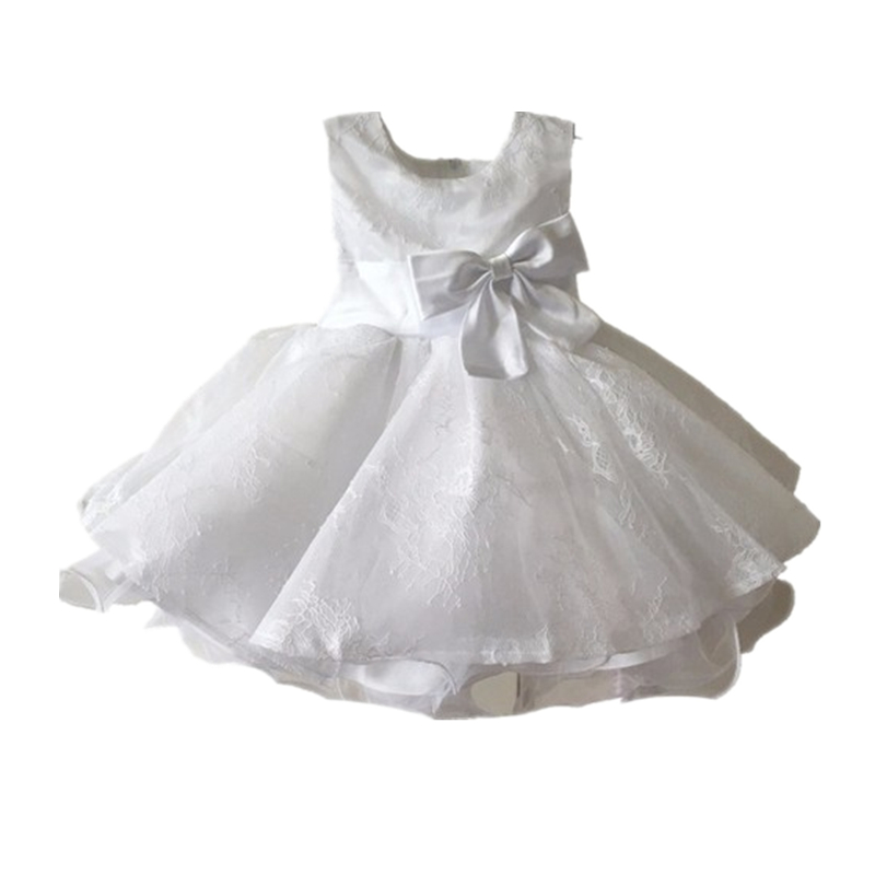 BBWOWLIN White Baby Girl Christmas Baptism Christening Dress for 0 - 6 Years First Communion Dresses for Girls 8004 bbwowlin baby girl shoes first walkers cotton crystal baby girls christening dresses for party wedding 90226