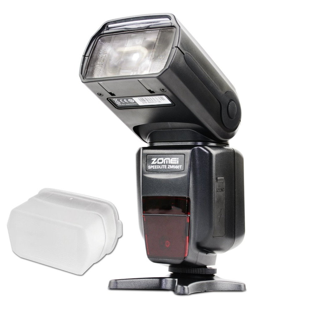 Zomei ZM560T Professional High Speed External Flash Flashlight Flashlite Speedlite With E-TTL Wireless S1 And S2 Modes For Canon