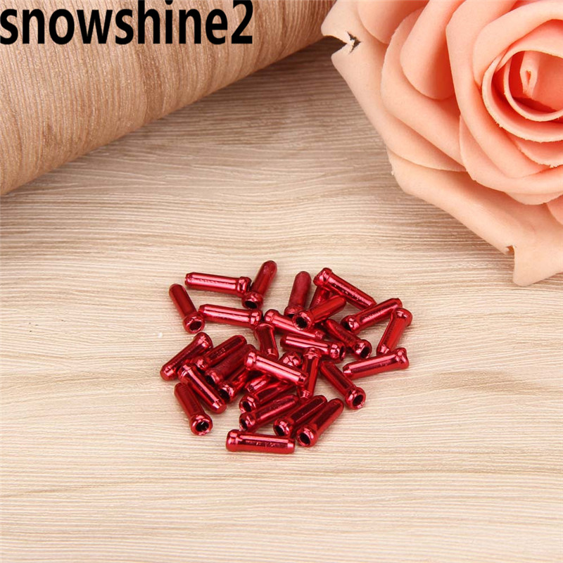 snowshine2 #5001 30PCS Bicycle Brake Transmission Shift Cable End Cap Core Cap And The Tail Cap wholesale