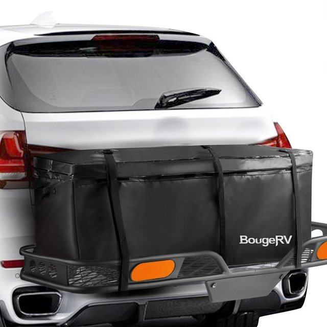 Kemimoto Rv Waterproof Cargo Bag Trailer Hitch Carrier Box For Vehicle Car
