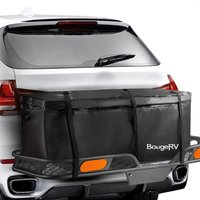 KEMiMOTO RV Waterproof Cargo Bag Trailer Hitch Cargo Bag Cargo Carrier Cargo Box For Vehicle Car Truck SUV Vans Roof Top Rear