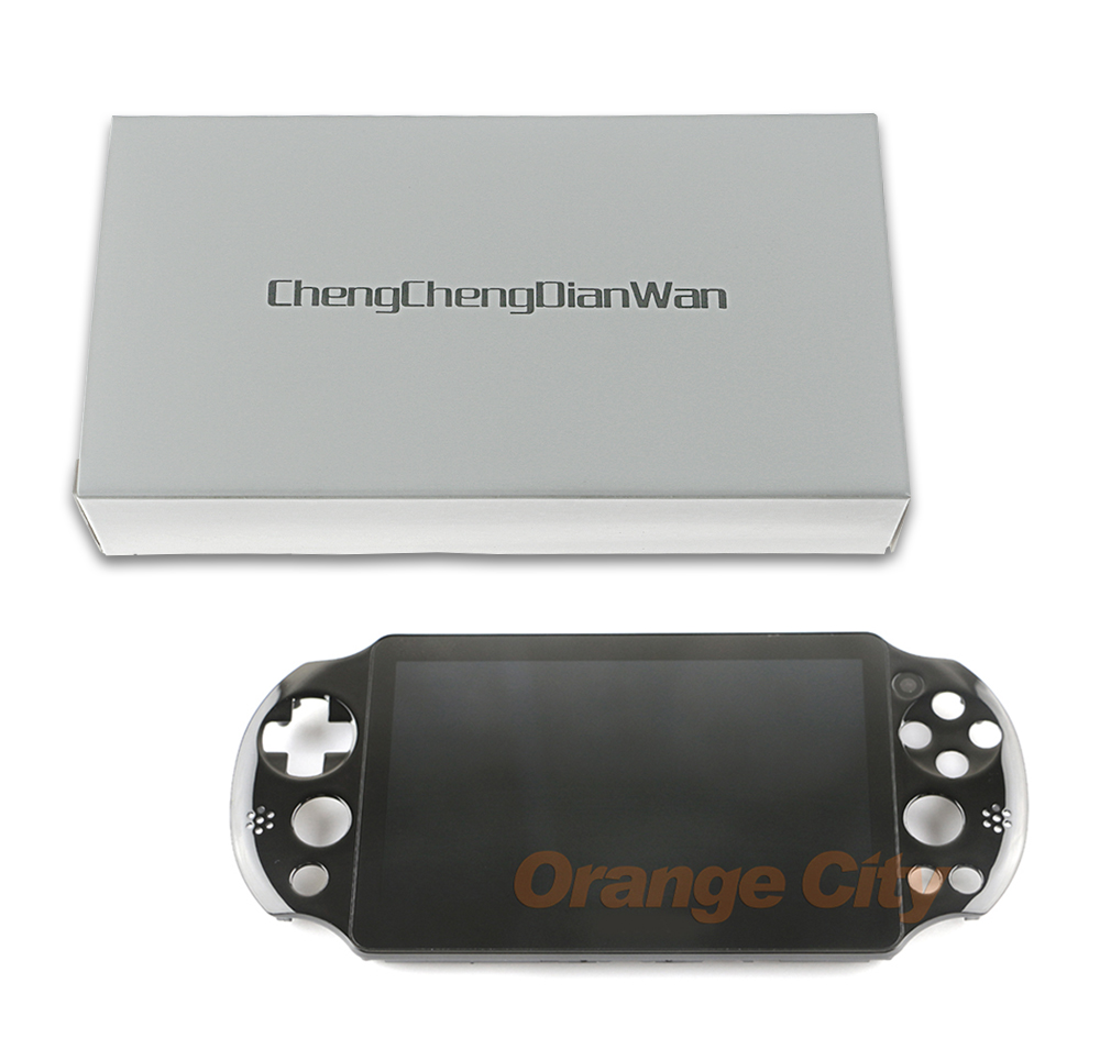 ChengChengDianWan For PS Vita Psvita 2000 Black Color Original New LCD  Display with Touch Screen Digital Assembled for PSV2000