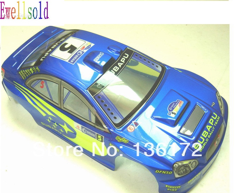 Ewellsold 2pcs 1 10 paited rc car PVC Shell Body  200mm,1/10 drift car parts NO:064  free shipping