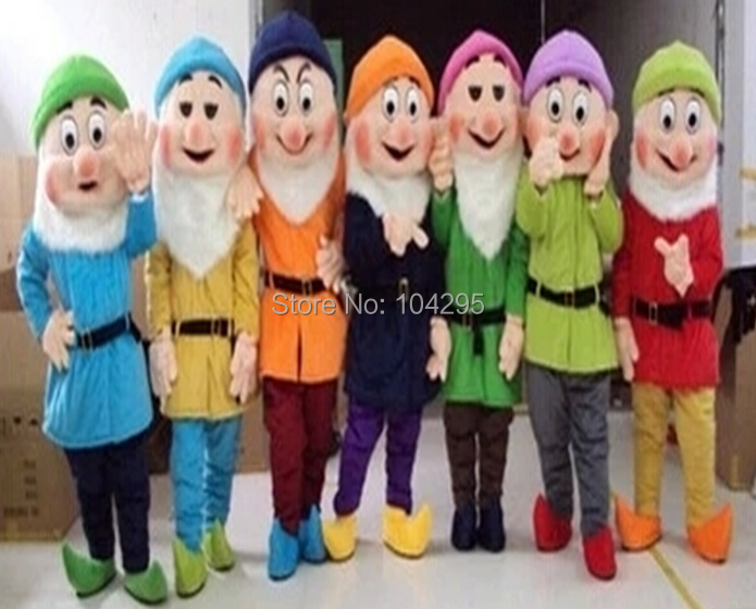 Childs Baby Deluxe Snow White and The Seven Dwarfs Dopey Soft Plush Costume