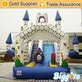 Inflatable Biggors Замок Стиль Раздувной Хвастун Слайд Аренда Для Детей