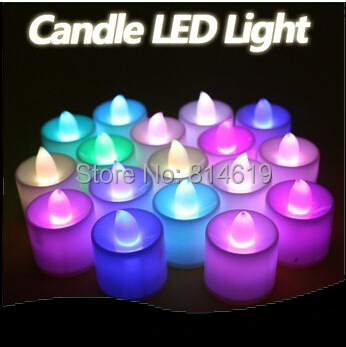 Led Lovely Candle 7 Color Change Good Night Light Hangingtable Lamp