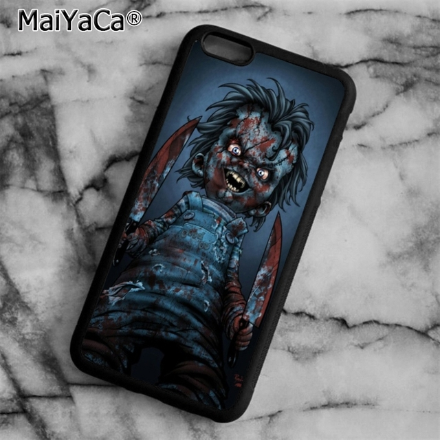 MaiYaCa TV Chucky Wallpaper Phone Case Cover For IPhone 5 5s SE 6 6s 7 8