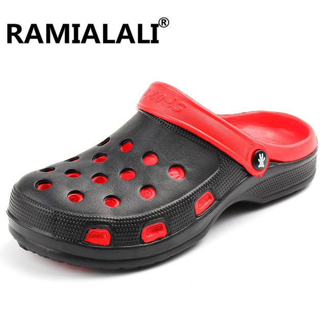 Men's Summer Casual Buckle Slip-On Hollow Breathable