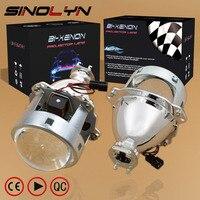 New 2014 Car Accessories Car Styling LHD RHD Retrofit Metal 3 0 HID BiXenon Projector Headlight