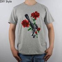 총 N 장미 Gnr 하드 록 머리 금속 락 & 하드 록 및 산업 바위 티셔츠 순면 남성 T 셔츠