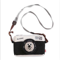 Vintage Fashion Camera Shaped Shoulder Messenger Cross Body Bag Camera Shaped Lip Handbag Shopping Tote