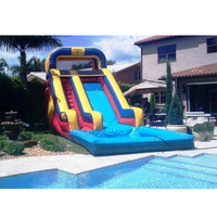 Inflatable water slides inflatable pool slides for sale