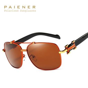 Aluminum Magnesium Brand Designer Men Polarized Sunglasses Male Sun Glasses UV Eyewear gafas de sol Spectacles with Accessories