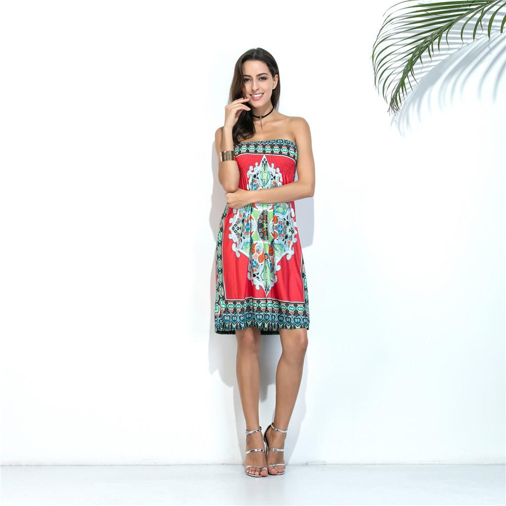 Swaggy HTB1PtiDQXXXXXcKXVXXq6xXFXXXy Sommer-Strand-Kleid schulterfrei - 10 Farben
