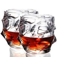 UPORS 350 мл виски стекло уникальный элегантный скотч стекло es ликер стакан Хрустальный Стакан для виски для дома вечерние свадебные стеклянны...