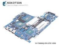 NOKOTION For Lenovo Y520 Laptop Motherboard 5B20N00291 DY512 NM B191 15.6 Inch SR32S I5 7300HQ CPU DDR4 GTX 1050 GDDR5