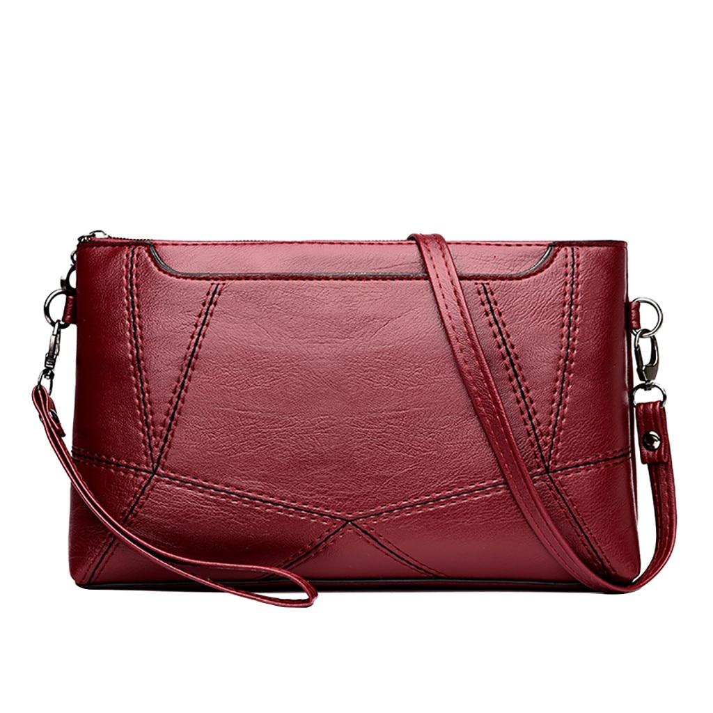 Sleeper #401 2019NEW FASHION Women Stitching Small Square Bag Versatile Shoulder Bag Messenger Bag Clutch Bag Hot Free Shipping