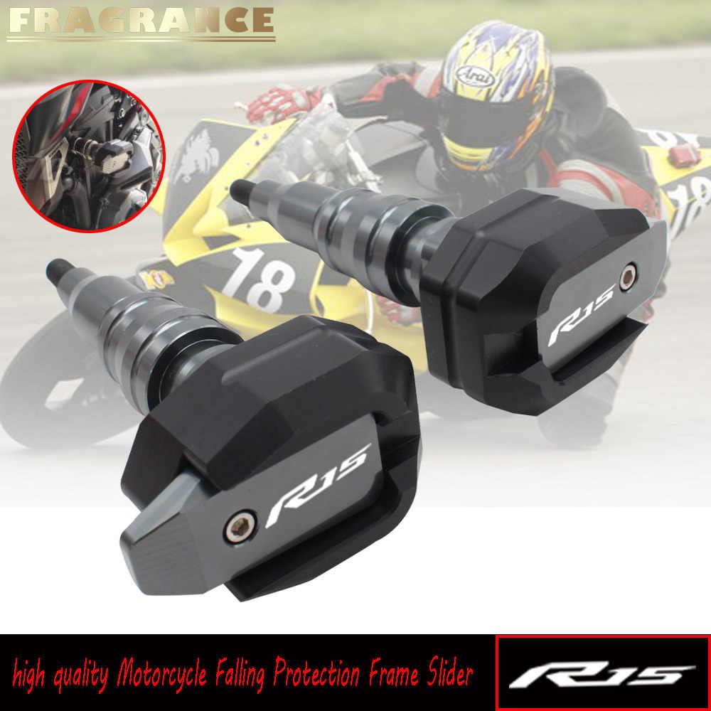 1 Para Motorrad CNC Rahmen Slider Crash Pad Fallender Protector Schutz für