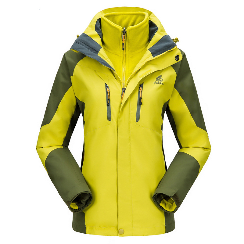ФОТО Waterproof Jacket Women Hunting Suit Heated Wind Windstopper Rain Protection Treking Sailing Jacket Hiking Jacket For Women Coat