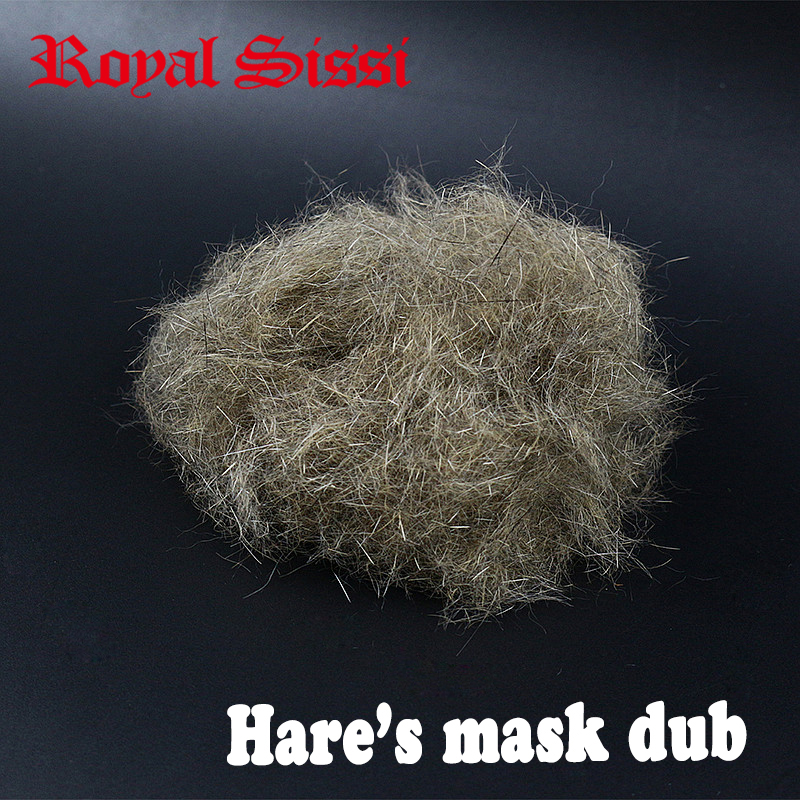 Hot 4grams big volume fly tying Hare's ear dub hare's mask rough dubbing spiky rabbit hair dub buggy nymph fly tying materials