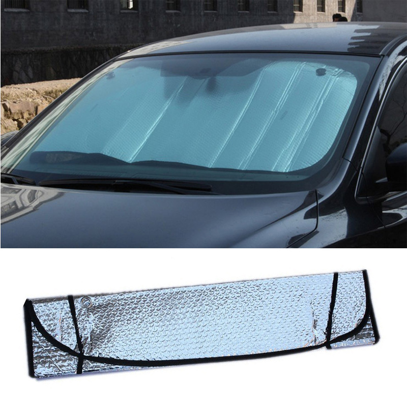 Car Front Windshield Frost Sun Visor Shade Dust Protector Prevent Snow Ice Cover Universal Sunshades Car Exterior Accessories