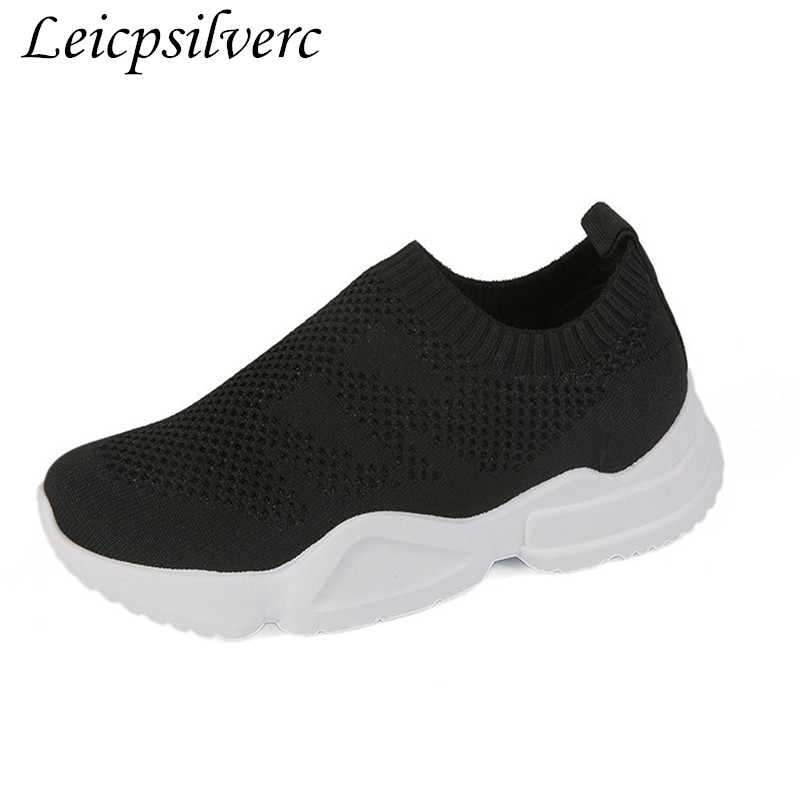 Promotional products Spring and autumn fashion popular Sexy net Breathable  Comfortable Flat shoes Women s shoes black white d69179294f