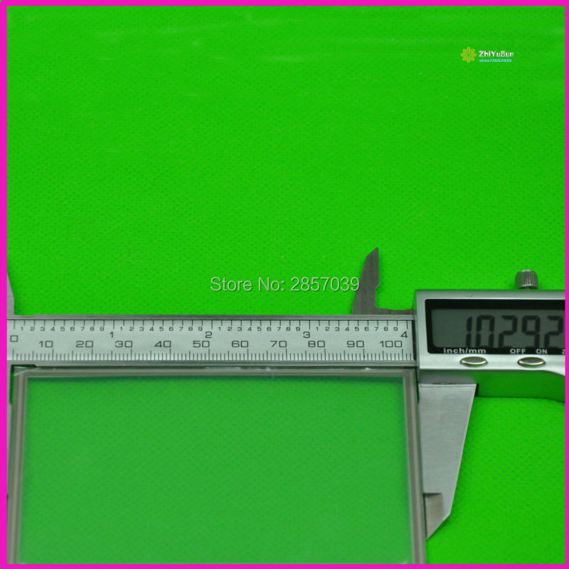 4.3inch 4 lins Touch Screen For GPS CAR 103mm*63mm touchsensor 103*63 043058 touchglass digitizer