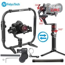 FeiyuTech Feiyu AK2000 AK4000 3-осевая карманная Камера карданный стабилизатор для sony Canon Panasonic GH5 Nikon D850 2,8 кг Payloa