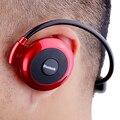 Venta caliente mini503 banda para el cuello mini wireless sport auricular/auriculares de música estéreo bluetooth del auricular/auricular con tarjeta sd tf ranura