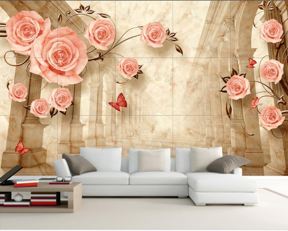 Beautiful Wallpaper Marble Aesthetic - European-style-minimalist-aesthetic-Marble-TV-sofa-backdrop-3d-stereoscopic-wallpaper-3d-wallpaper-flower  Image_296155.jpg