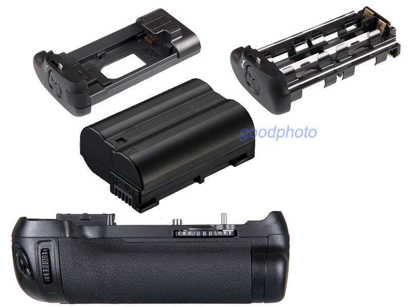 JINTU Pro Multi Power Bateria Vertical titular Aperto + 1x Decodificar Kit Para Nikon EN-EL15 D600 D610 SLR DSLR Camera como MB-D14