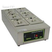 Gifco 12 kg Schokolade Schmelzmaschine Top Qualität Edelstahl 304 6 Gitter + Kostenloser Versand
