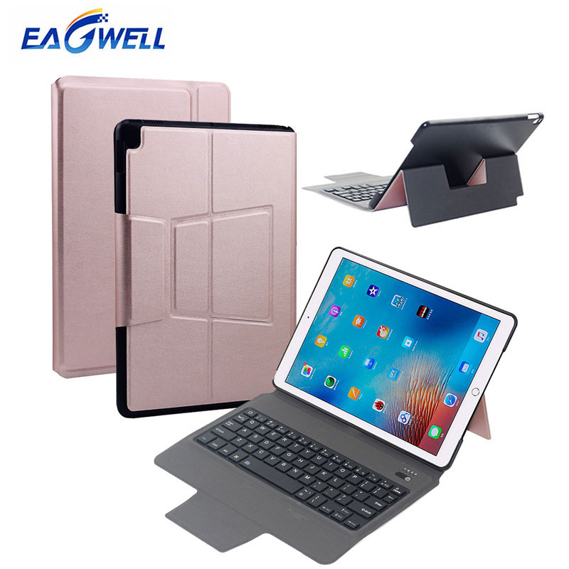 Wireless Bluetooth Keyboard PU Leather Case For Apple iPad Pro 10.5 Smart Cover Anto Wake/Sleep Tablet Keyboard Stand Case Coque for ipad pro 12 9 keyboard case magnetic detachable wireless bluetooth keyboard cover folio pu leather case for ipad 12 9 cover