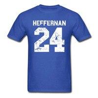 Heffernan 24 k tシャツ男性は王のクイーンズダグips coopers ale家カジュアル100%コットンtシャツ米国サイズs-3xl