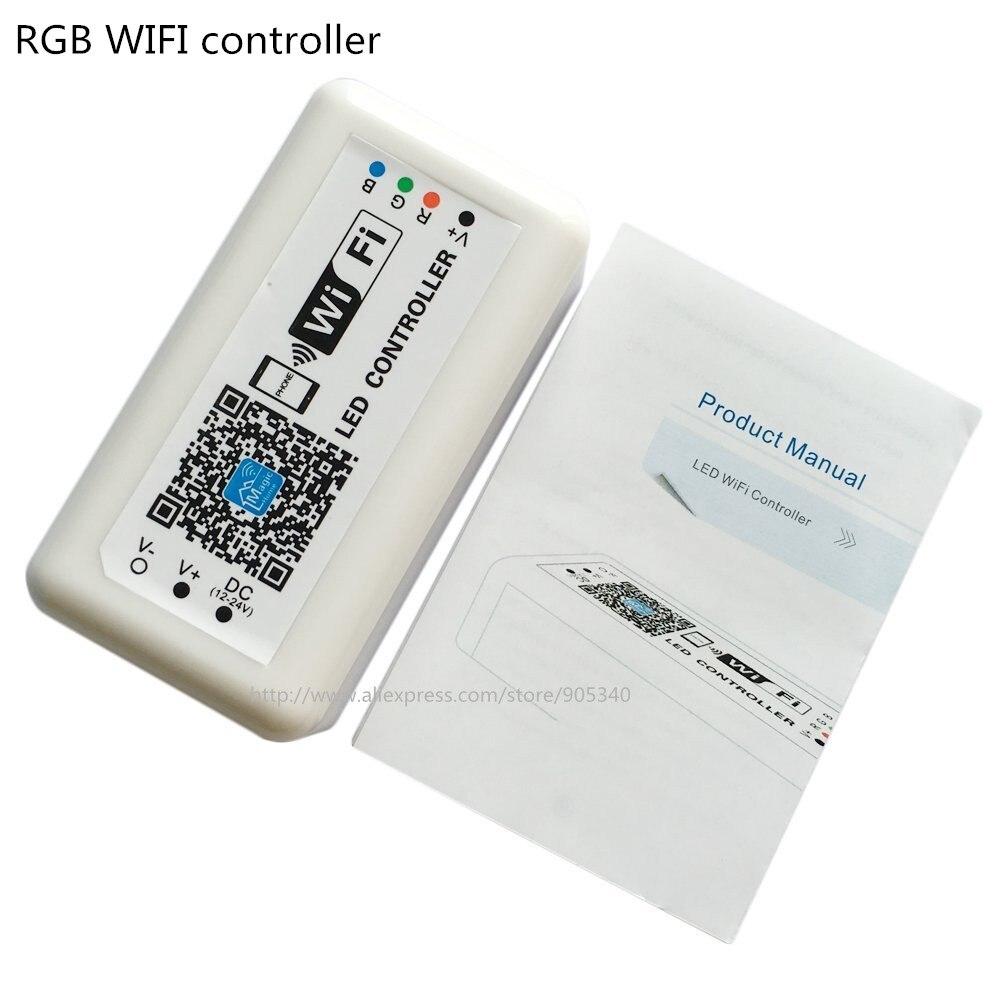 MINI LED WIFI Controller rgb DC12-24V 12A RGB LED շերտի - Լուսավորության պարագաներ - Լուսանկար 1