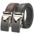 Men's Genuine Leather Automatic Buckle Belt Man 2017 Designer Belts Men High Quality Black Luxury Strap Cinto Masculino PD180