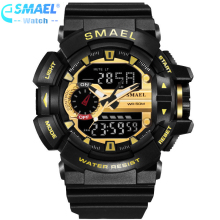 LED Digital Watch Men Sport Wrist Watches 2017 Clock Famous Top Brand Luxury SMAEL Electronic Digital-watch Relogio Masculino,
