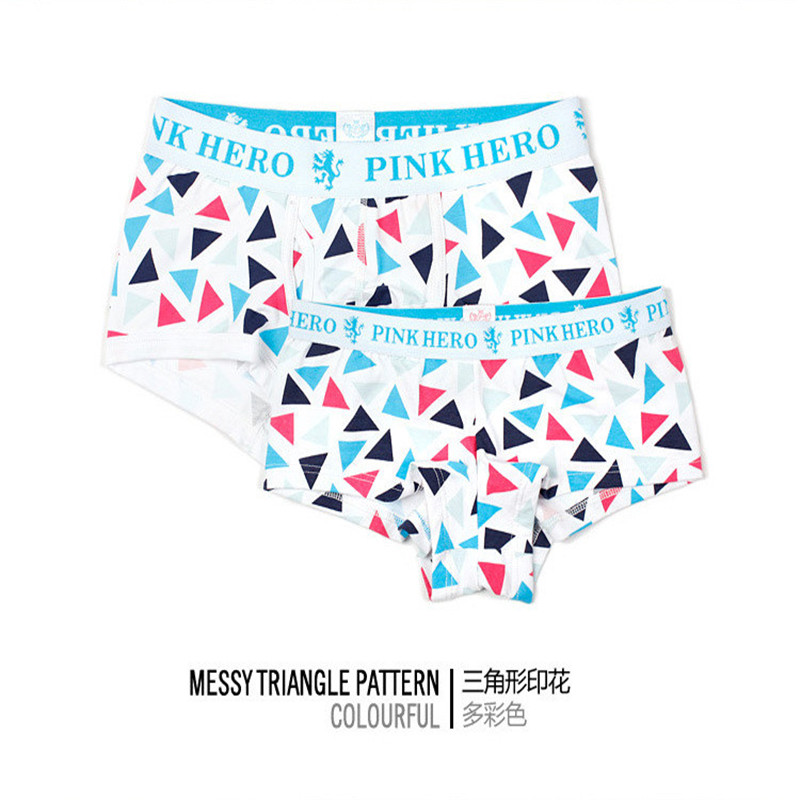 Underwear & Sleepwears Pink Hero Men Underwear Boxers Ocean Wind Cotton Sexy Men Boxer Underwear Striped Wave Print Mens Shorts Boxer Panties Cuecas Latest Technology Boxers