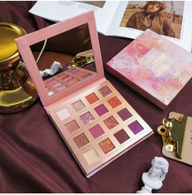 Professional Eyeshadow Palette 16 Color Glitter Shimmer Matte Makeup Palette Pigmented Waterproof Eye Shadow Pallete Cosmetic цены