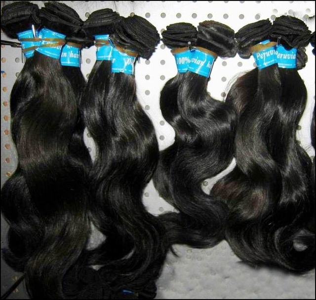 "RAW KissLocks Peruvian Virgin Human Hair Unprocessed 4pcs/lot 12""-30"" Body wave wefts Consistent Quality"