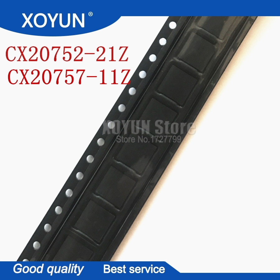 2pcs/lot CX20757-11Z CX20752-21Z CX20757 11Z CX20752 21Z CX20752-21Z CX20752 21Z QFN-40 100%New