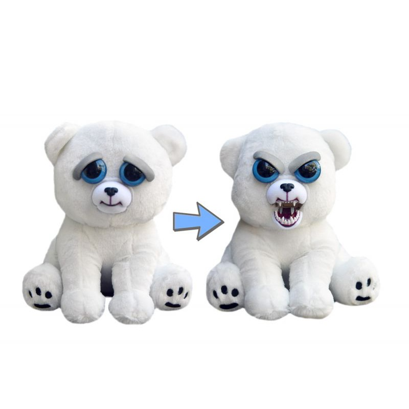 Toys 2018 New Feisty Pets Roaring Angry Toy Kids Gift Change Face Stuffed Animal Doll Plush Toys For Children Cute Toy Gifts