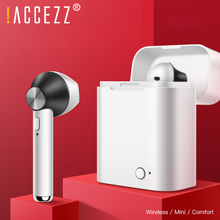 !ACCEZZ TWS Bluetooth Wireless Earphones Waterproof Stereo Button Control Earphone For iphone XS Samsung Mobile Phone
