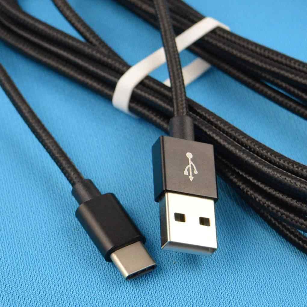 1/2/3 metrów kabel ładowania typu C linia danych do Samsung Galaxy S9 S8 Plus uwaga 8 USB-C kabel szybkiego ładowania