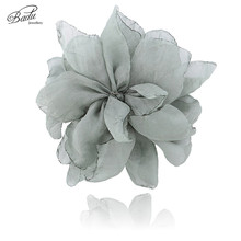 Badu Bohemian Flower Pink Brooch Women Fashion Jewelry for Spring Summer Holiday Fairy Jewellery Wholesale