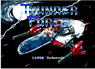 Thunder Force IV - Sega Mega Drive For Genesis