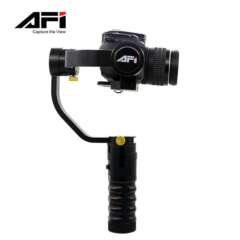 KINGJUE AFI VS-3SD Handheld 3-Axle Brushless Handheld Steady Gimbal Stabilizer for CN 5D 6D 7D for Sony for GH4 DSLR came стоимость